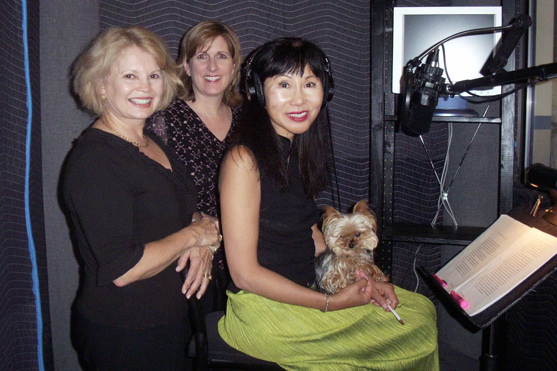 Kathy, Elaine and Amy Tan