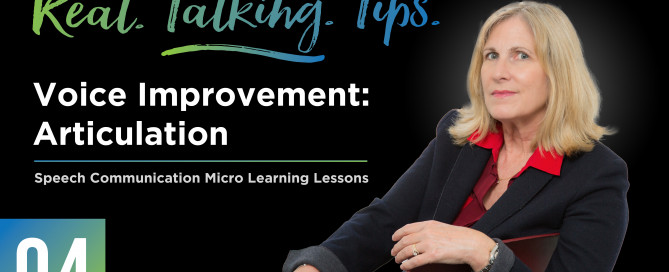 04: Real Talking Tips - Articulation