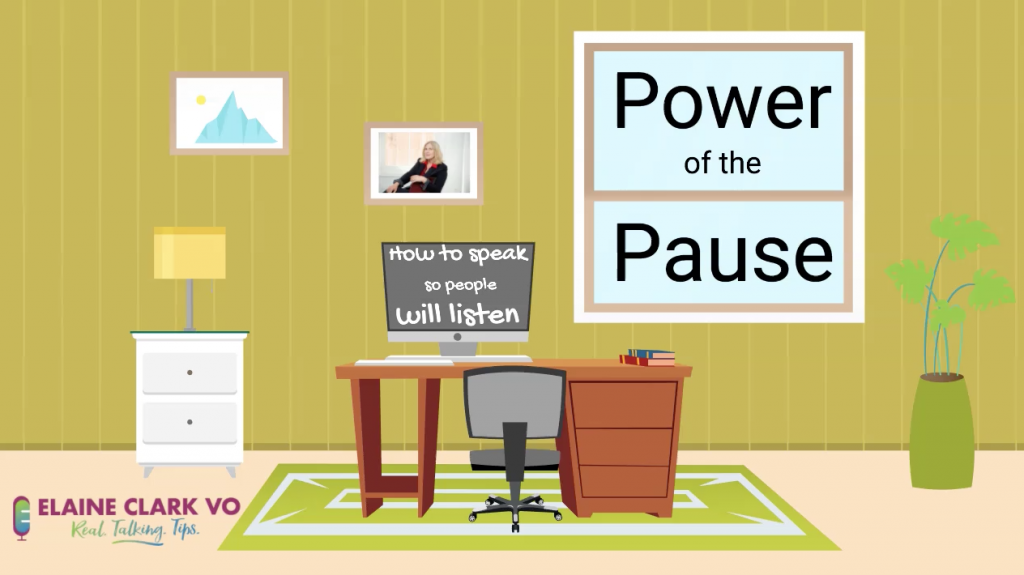 VO: The Power of the Pause. How to Speak so People will Listen.