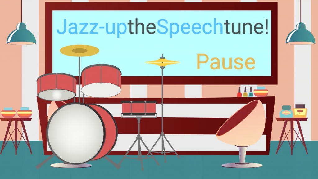 VO: Jazz Up the Speech Tune with the Power of the Pause.