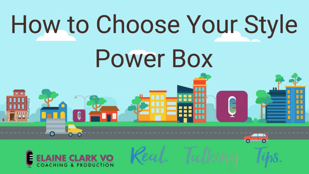 Cartoon of a small city - How to Choose Your Style Power Box