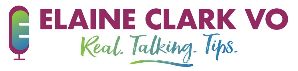 Elaine-Clark-VO-Real-Talking-Tips-Logo