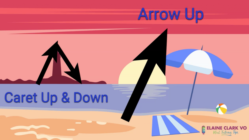 Caret Up & Down - Arrow Up