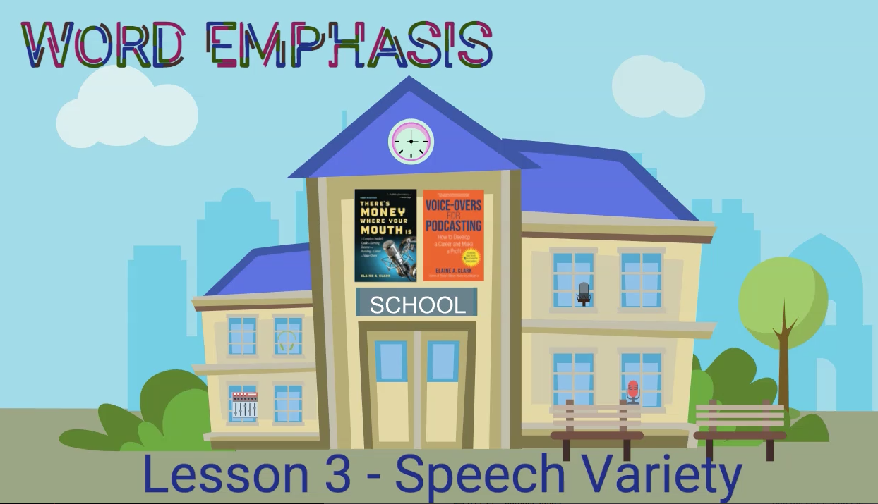 Emphasis - Lesson 3 - Speech Variety